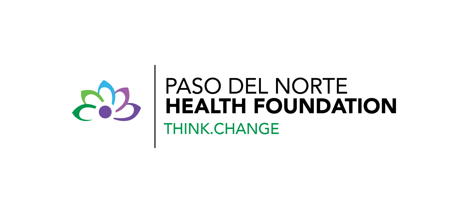 Paso Del Norte Health Foundation Think.Change logo