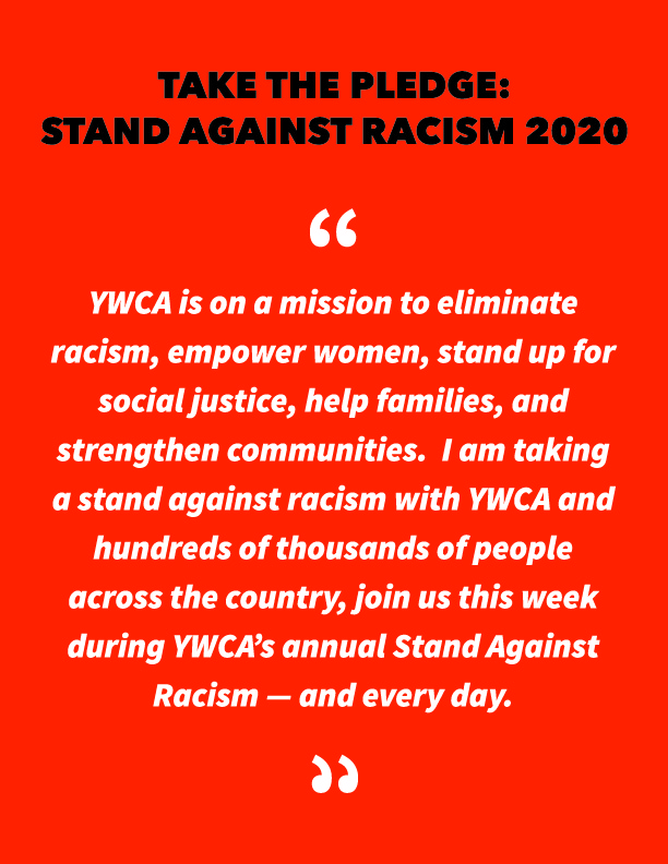 stand against racism pledge 2020