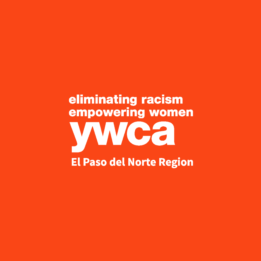 YWCA El Paso logo that says: eliminating racism, empowering women, YWCA El Paso del Norte Region